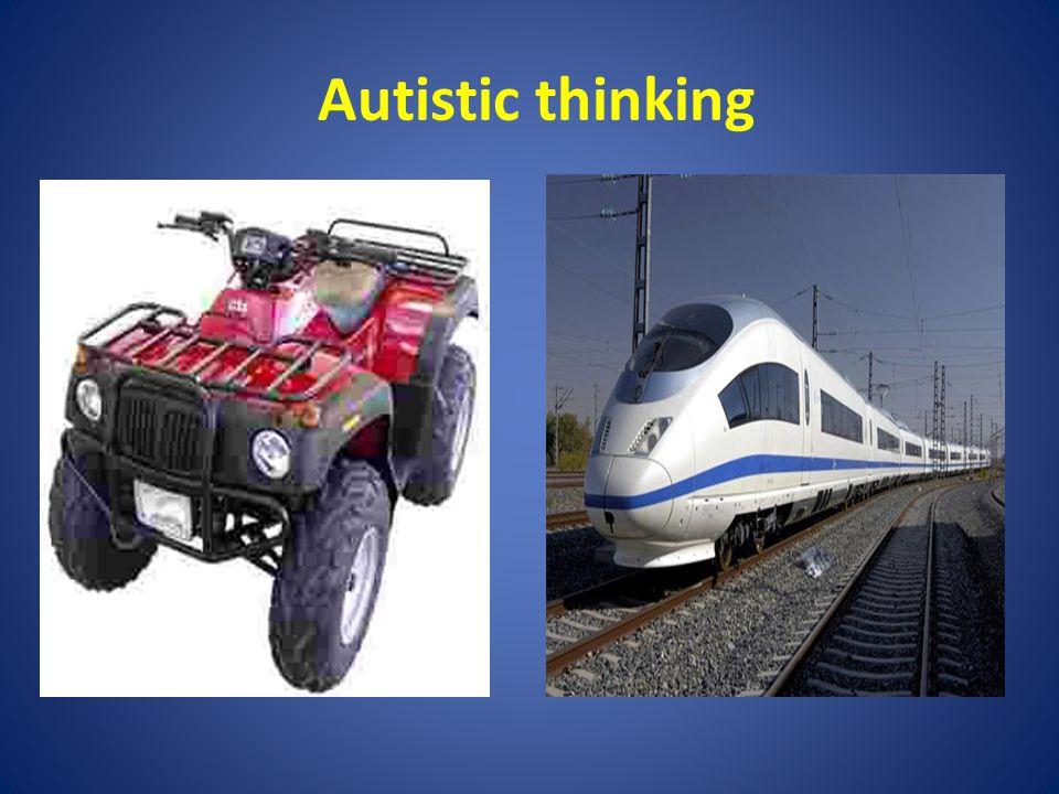 Autistic thinking