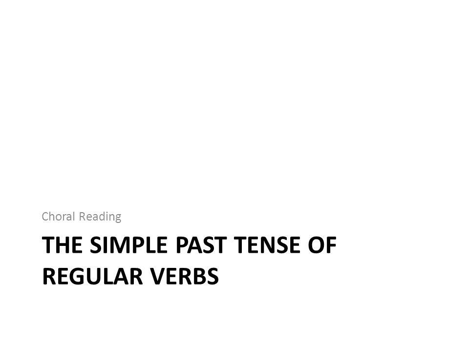 Pronunciation of –ed past forms After voiceless sounds /p, k, f, s, ∫, t∫/  /t/ After voiced sounds /b, g, v, ð, z, ʒ, dʒ, m, n, ŋ, l, r/ + all vowels  /d/ After /t/ or /d/ sounds  /əd/
