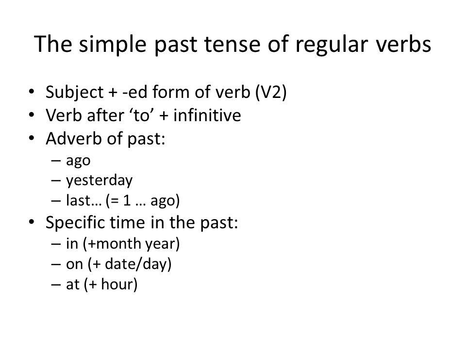 Irregular Verb 2 Verbs with no changeFinal d changes to t Verbs with a vowel change / ɛ / or / ɒ //ɔ//ɔ/ /o ʊ / /æ/ /Λ//Λ/ / ɒ / or /o ʊ / /ʊ//ʊ//ɛ//ɛ/ /ə ʊ / or /o ʊ /, /u//a ʊ / or /e I / or / ɛ / /ɔ//ɔ/ /I//I/ /e I / /ɛ//ɛ/ /ɔ//ɔ/ / ɒ / or / ɑ / /u/ Miscellaneous Changes