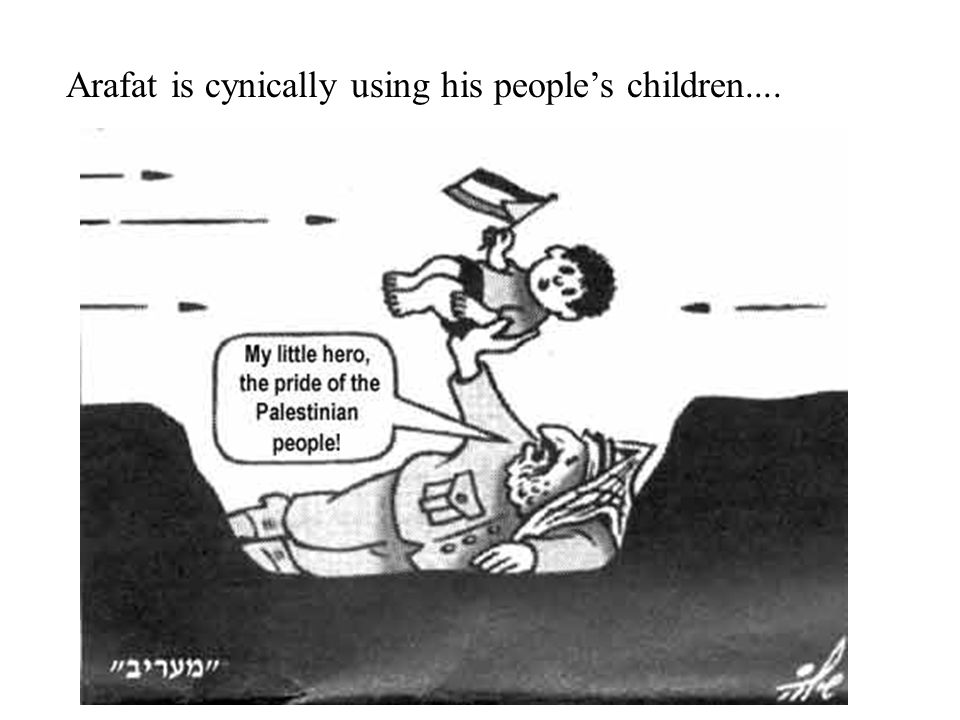 What about the Palestinian children They say they only use rocks.....