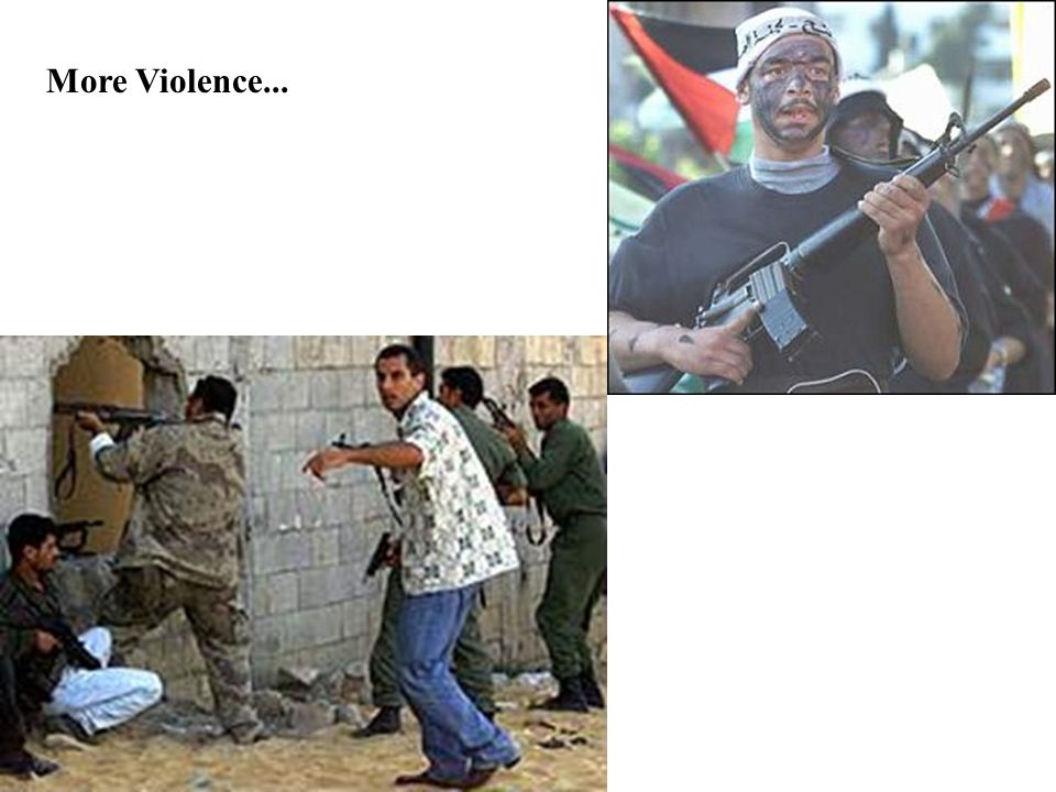 Arafat is cynically using his people's children....