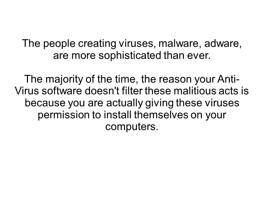 The next time you reboot your computer, you will start getting pop ups saying that you need to fix your computer.
