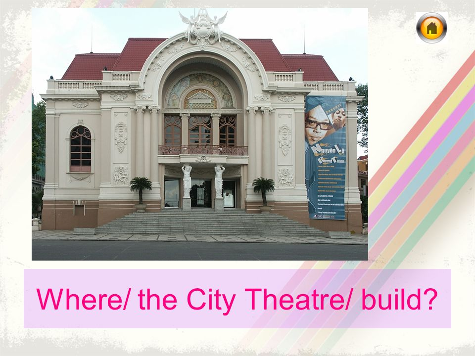Where/ the City Theatre/ build?