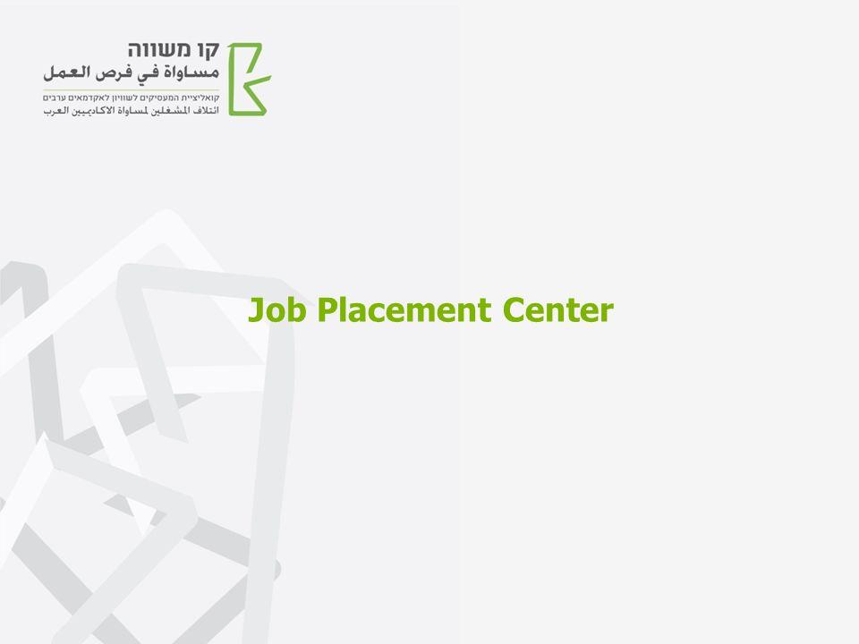 Job Placement Center