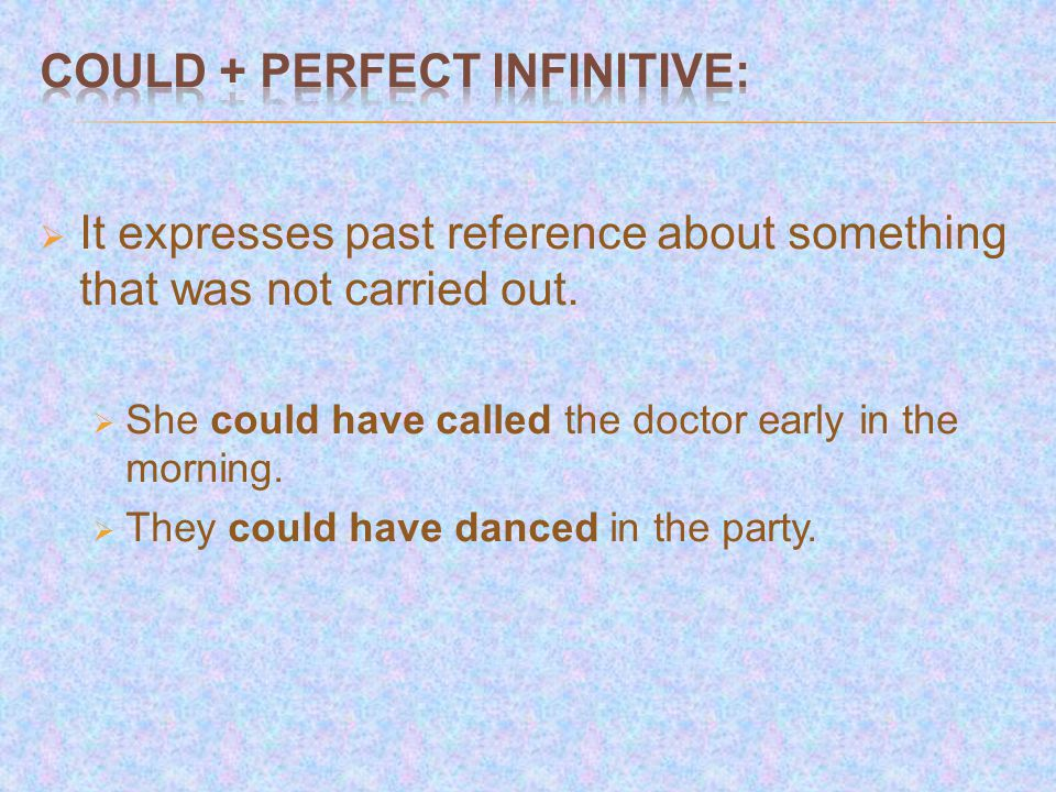  It expresses negative deduction, impossibility or disbelief:  She can't have passed the exam.