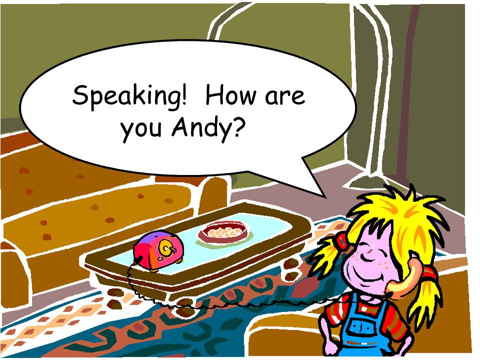 Speaking! How are you Andy?