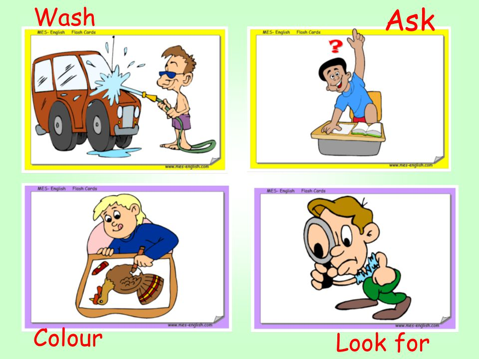REGULAR VERBS Spelling rules To form the affirmative past tense of most regular verbs: Add –ed to the base form of the verb (wash- washed).