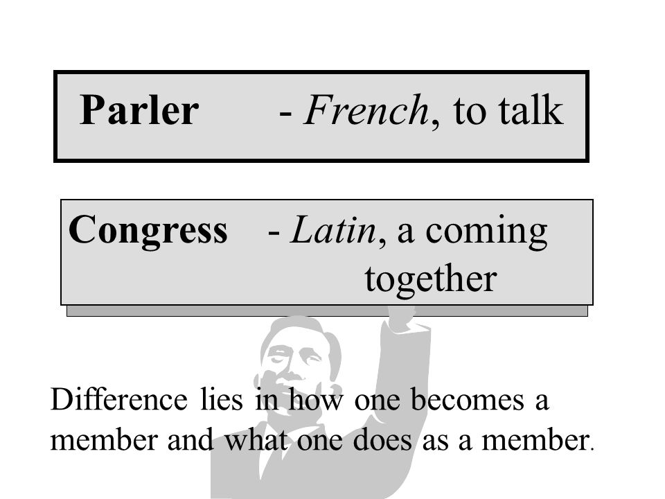 The Legislative Branch Congress v. Parliament