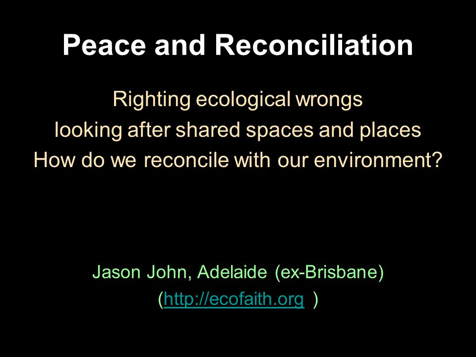 Looking after shared places If it is to be our place we must fulfil our needs at the expense of some other life forms (as others do to us).