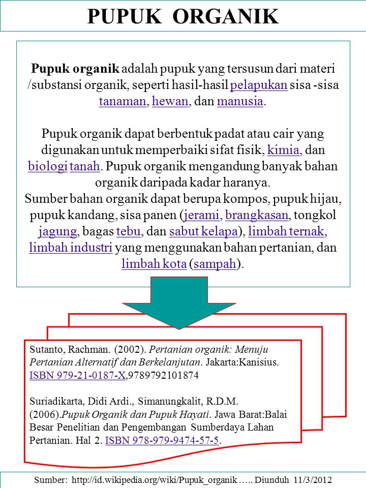 PUPUK HIJAU – KESUBURAN TANAH Results from an experiment where overwintered vetch was incorporated at three different dates in the spring.