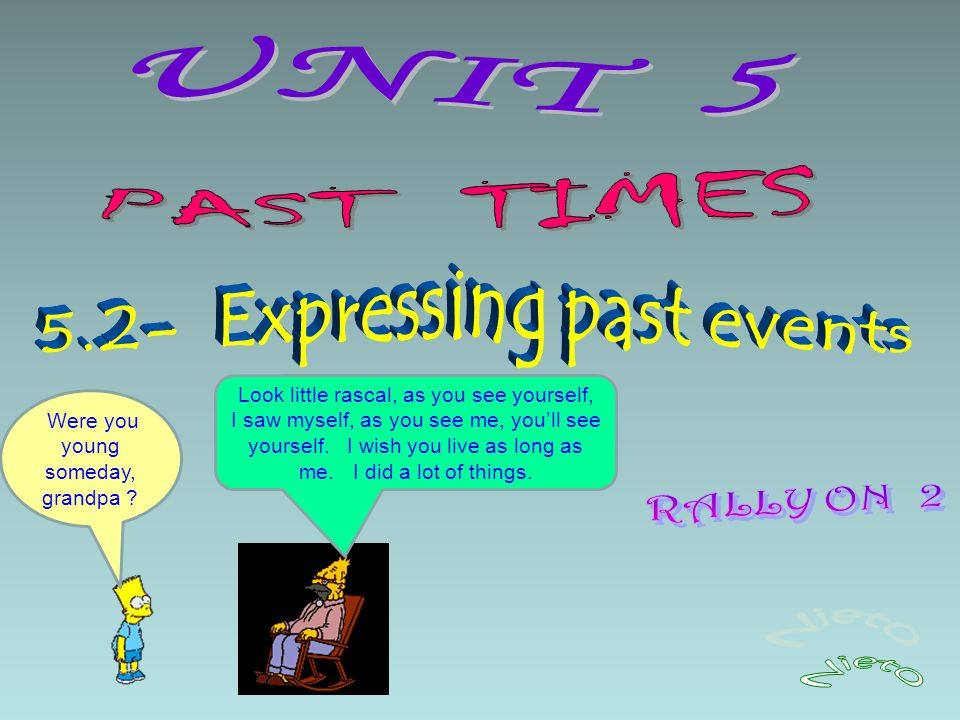 essay about event in the past