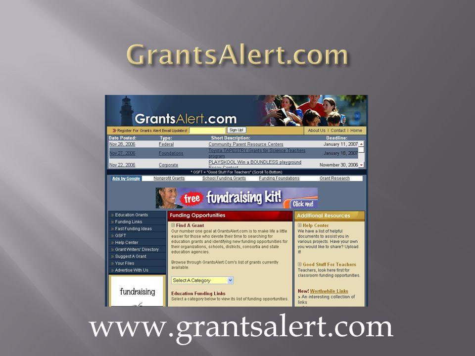 www.grantsalert.com