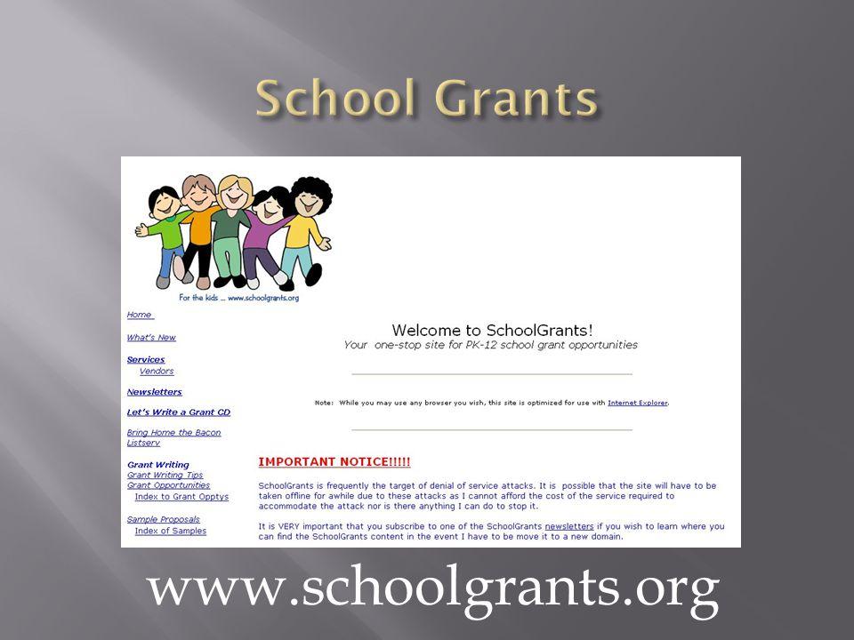 www.schoolgrants.org