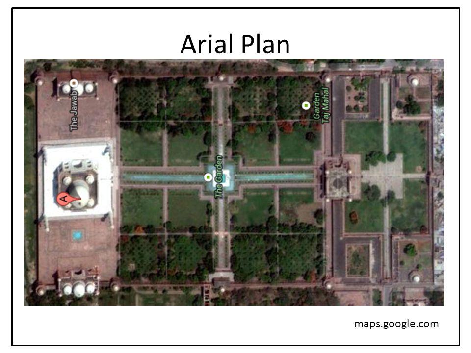 Arial Plan maps.google.com