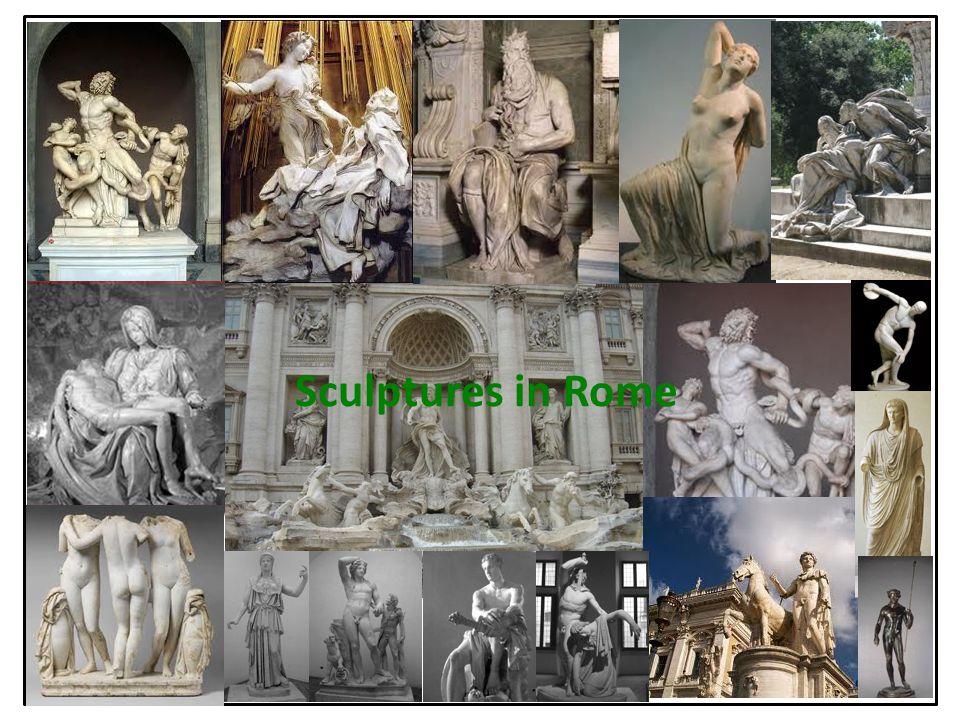 Sculptures in Rome