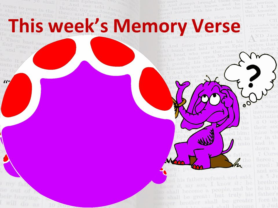 "This week's Memory Verse ""The Word became flesh and made his dwelling among us. We have seen his glory, the glory of the One and Only, who came from t"