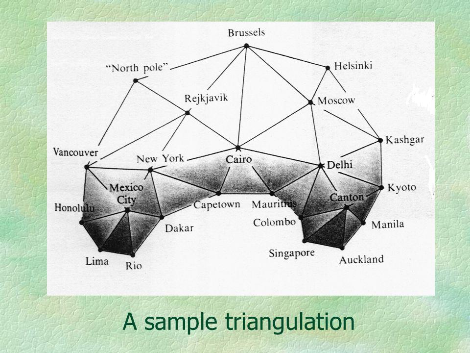 A sample triangulation