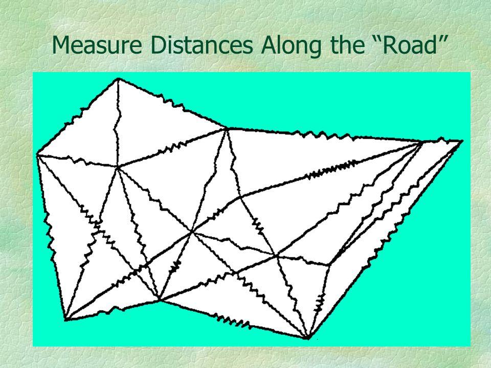 Measure Distances Along the Road