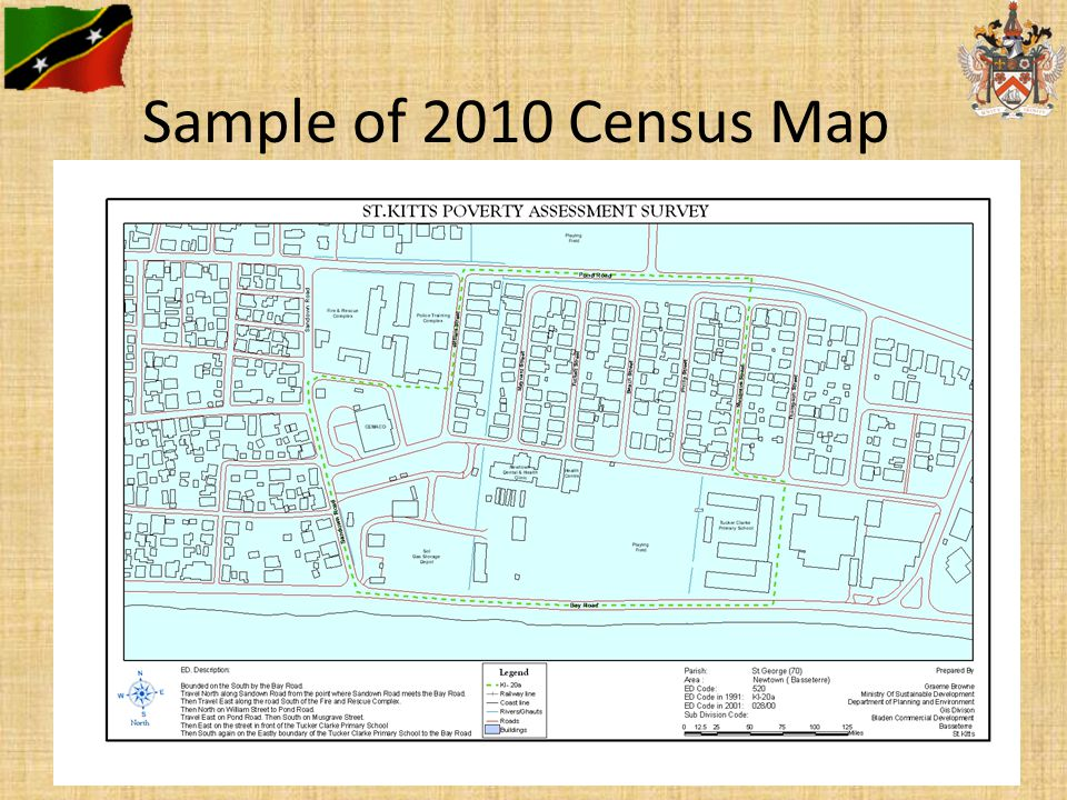 Sample of 2010 Census Map