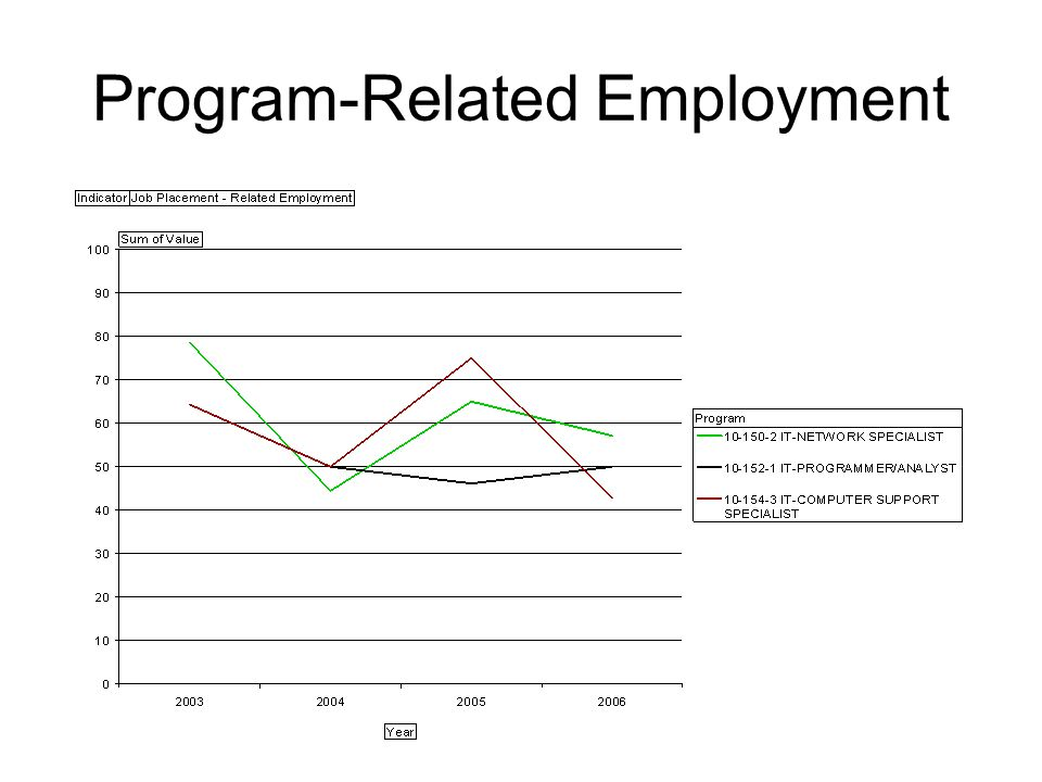 Program-Related Employment