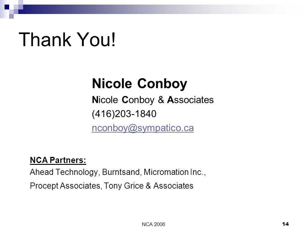 NCA 200614 Thank You.