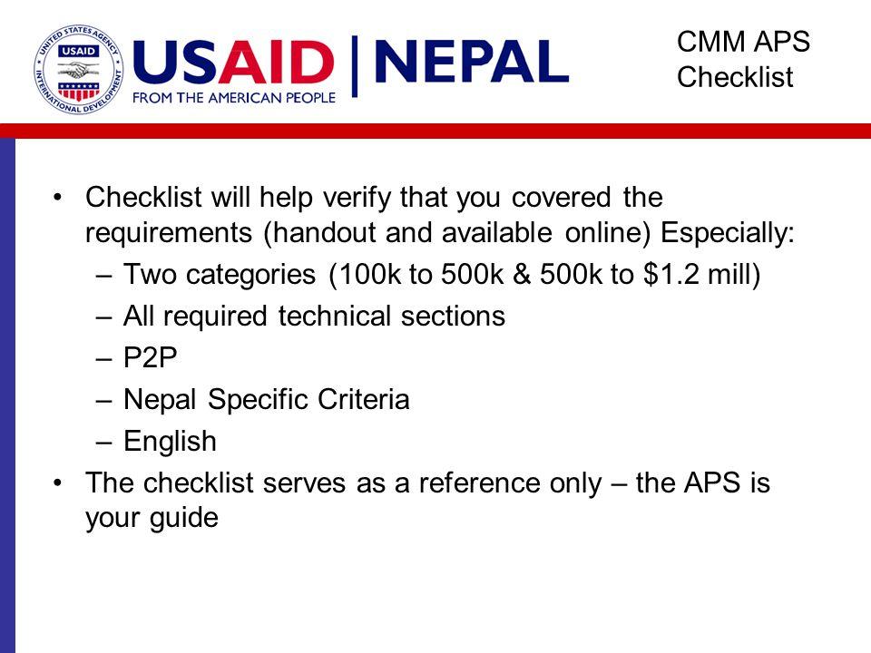 CMM Nepal Program Presentation Reshma Thapa, DG Specialist