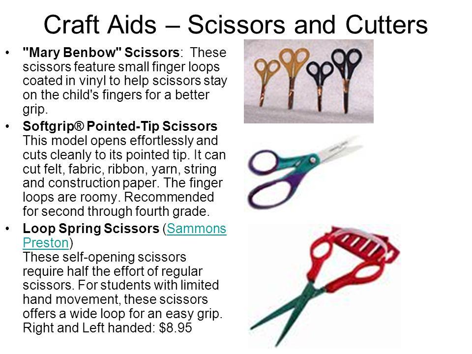 Craft Aids – Scissors and Cutters