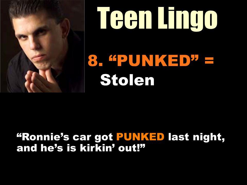 Workin It Out 06/23/11 Teen Lingo 8.