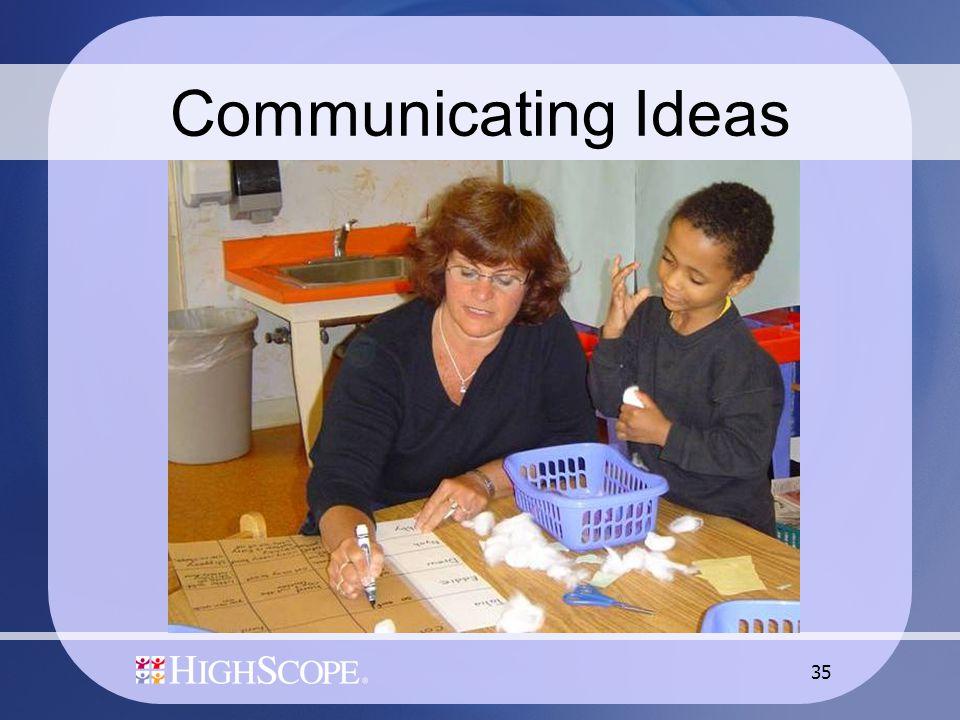 35 Communicating Ideas