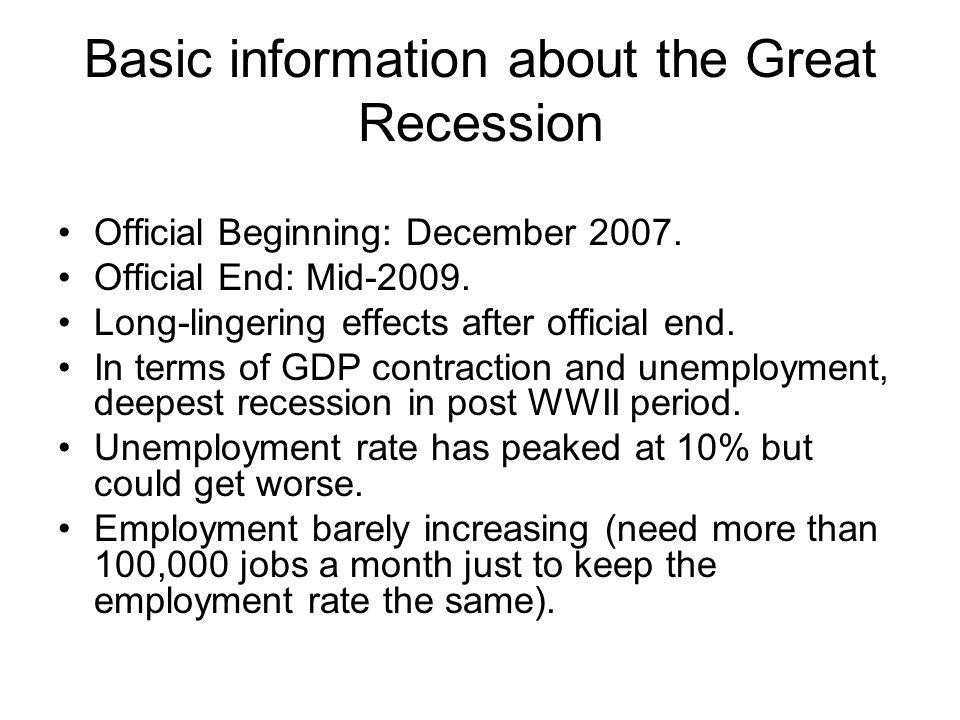 Correlates of the crisis (cont'd) Financialization of the economy.