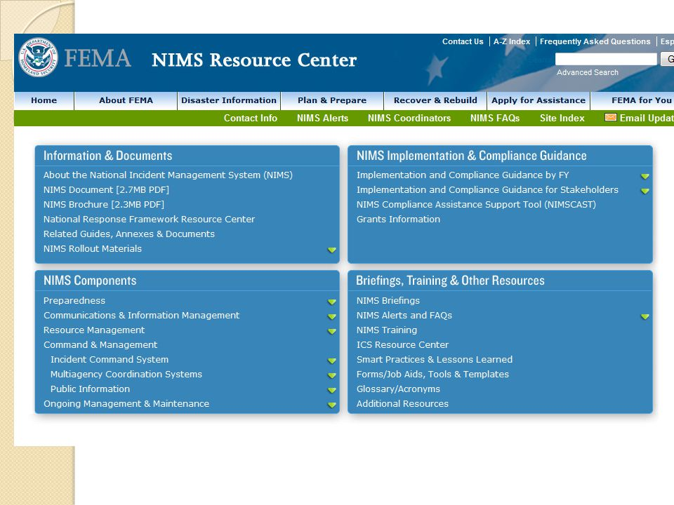 NIMS Resource Center