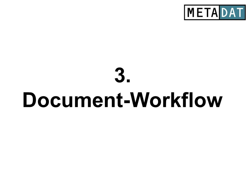 3. Document-Workflow