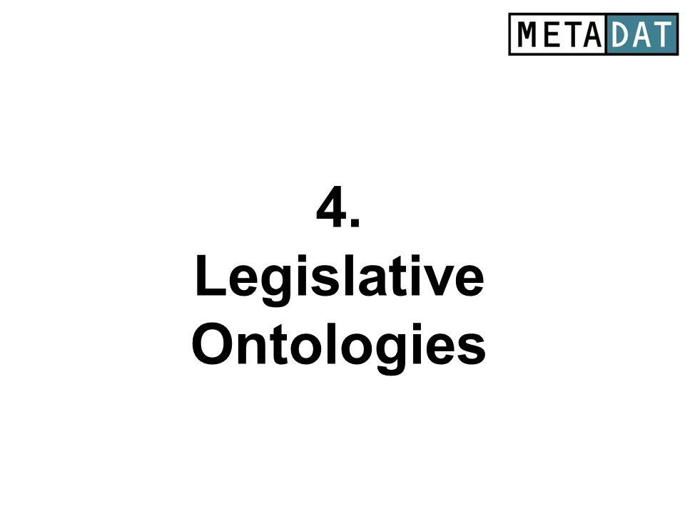 4. Legislative Ontologies