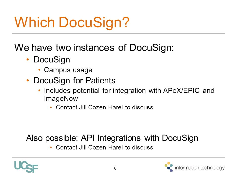 Which DocuSign.
