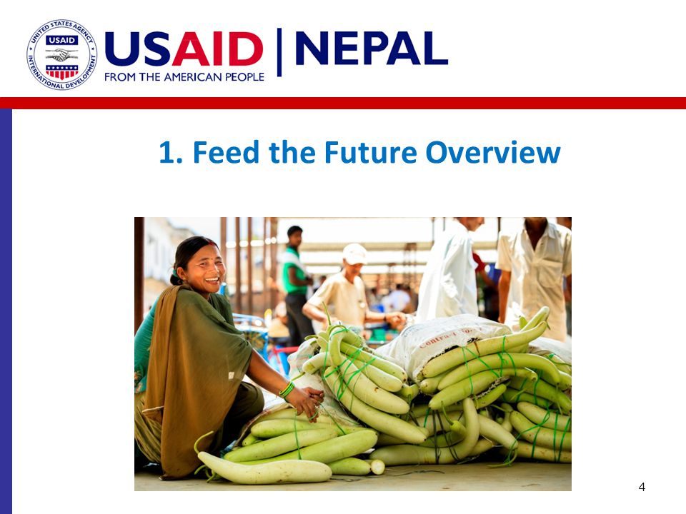 1. Feed the Future Overview 4