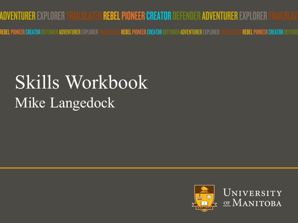 29 Skills Workbook Mike Langedock