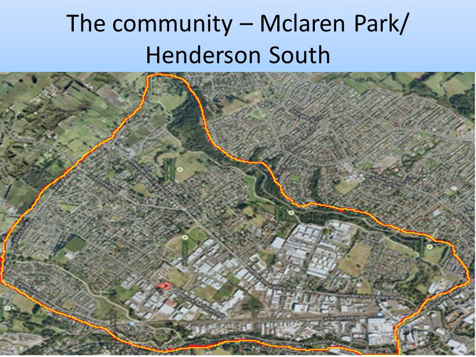 The community – Mclaren Park/ Henderson South