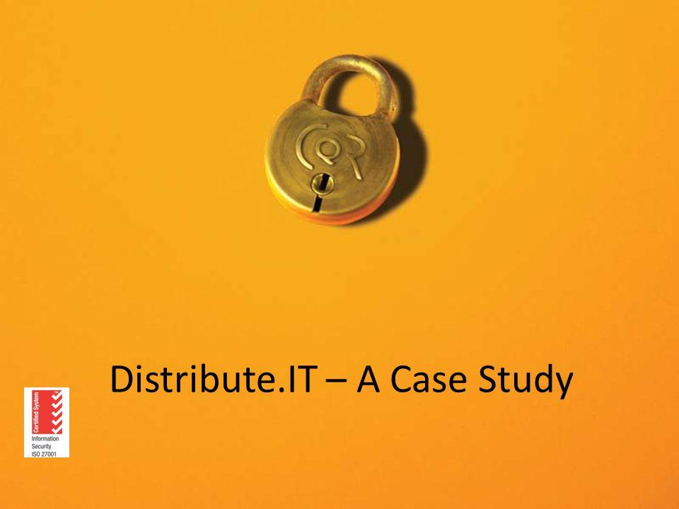 Distribute.IT – A Case Study