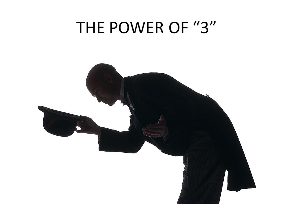 THE POWER OF 3