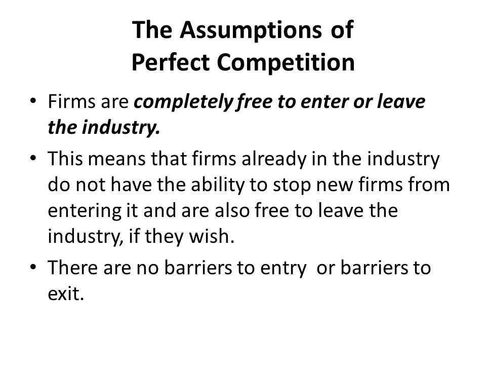 SHORT RUN LOSSES IN PERFECT COMPETITION In this graph the firms in the industry are making losses in the short run.