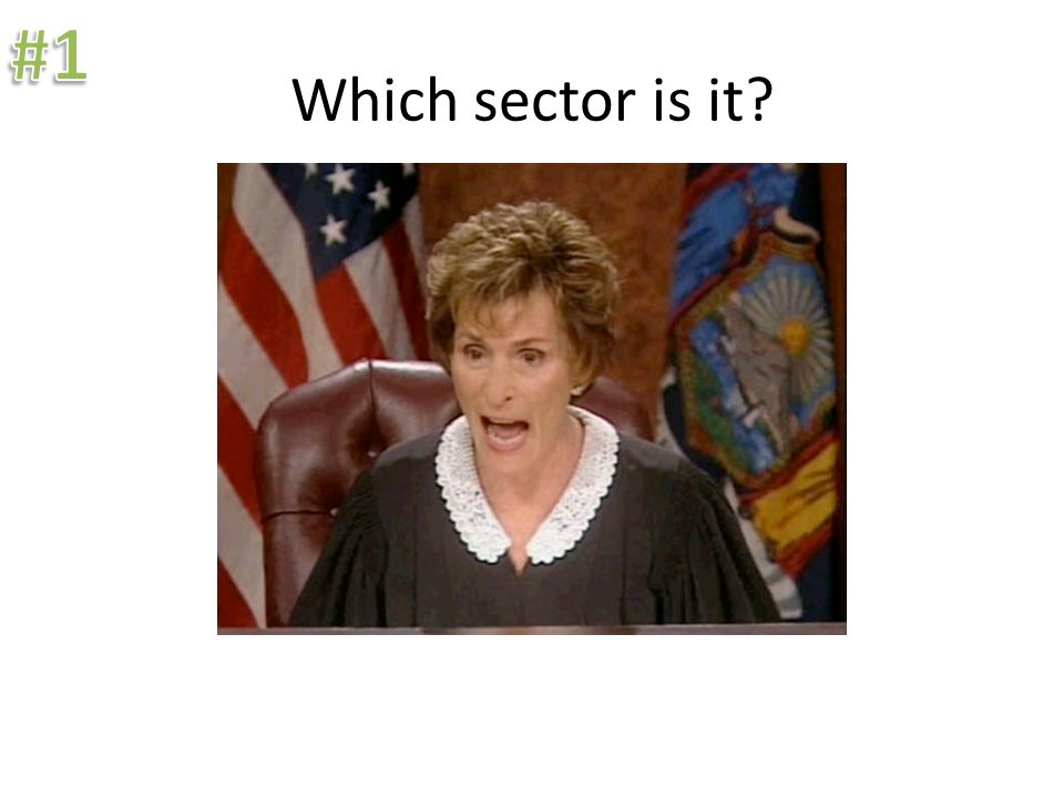 Which sector is it?