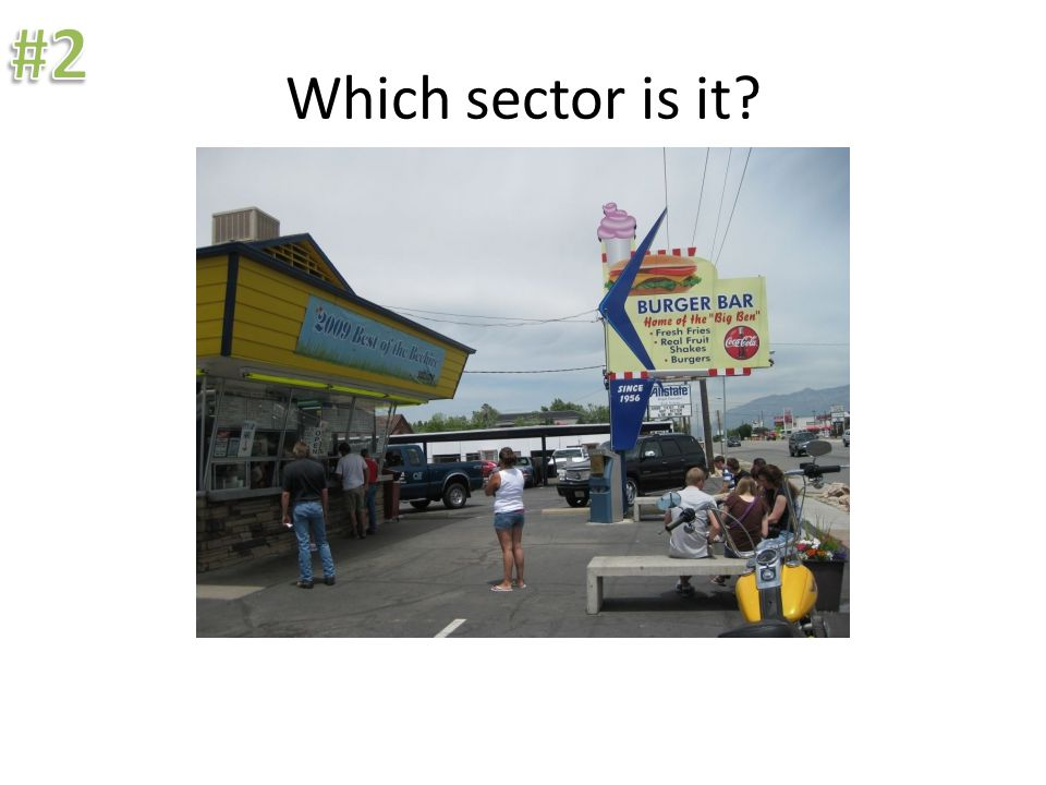 Which sector is it? Construction, even if poorly done, is in the secondary sector.