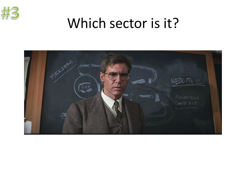 Which sector is it.Manufacturing is part of the secondary sector.