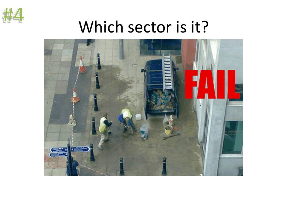 Which sector is it? Harmons is part of the tertiary sector.
