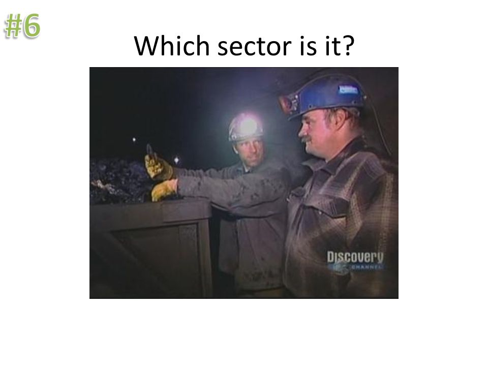 Which sector is it.