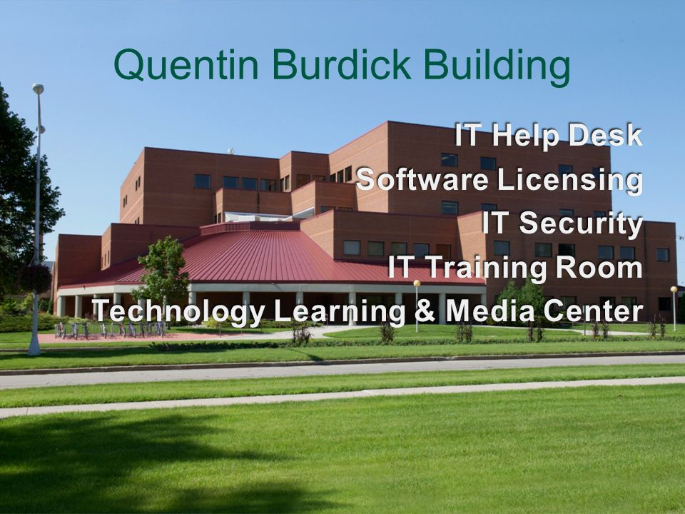 Quentin Burdick Building