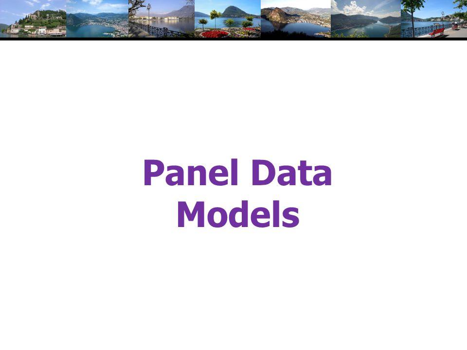 Panel Data Models
