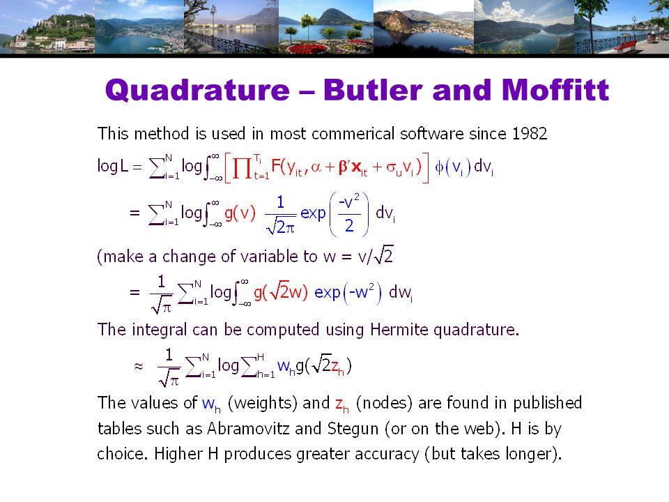 Quadrature – Butler and Moffitt
