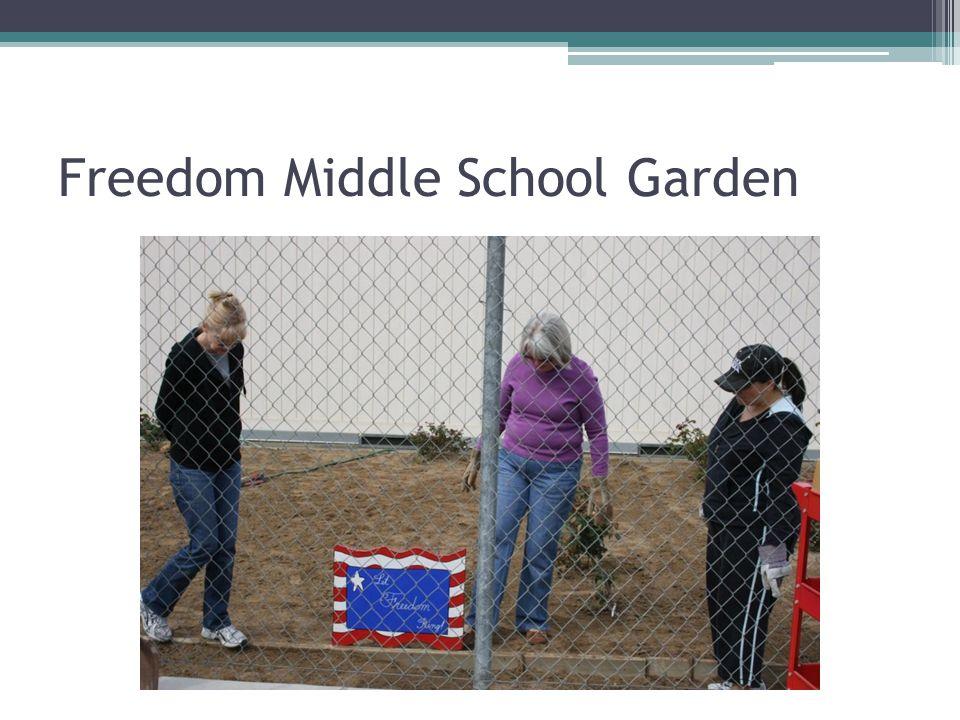 Freedom Middle School Garden