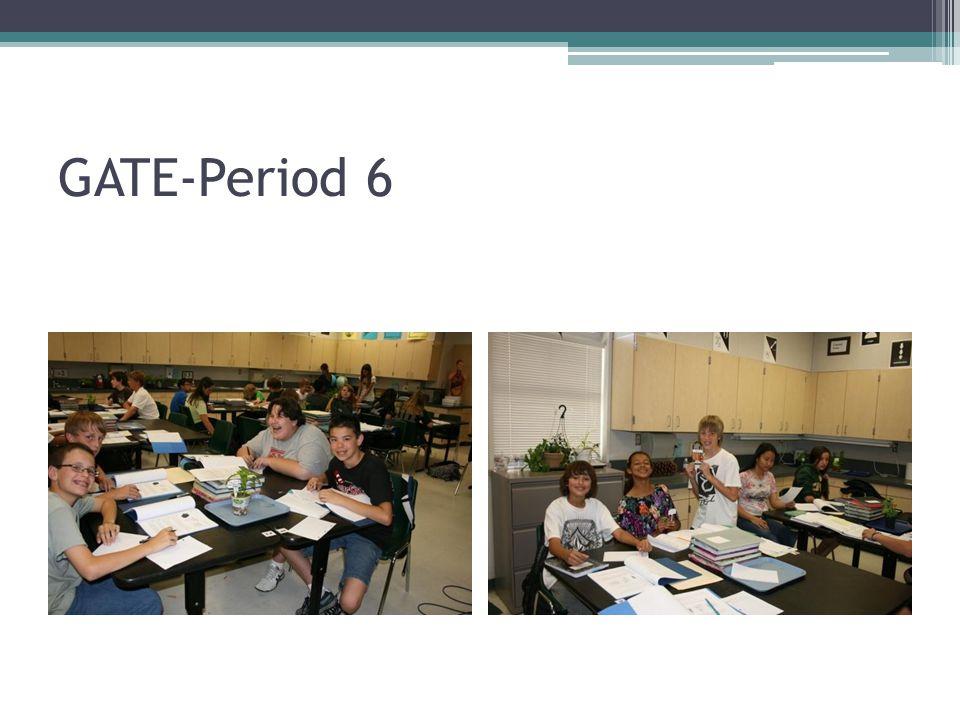 GATE-Period 6